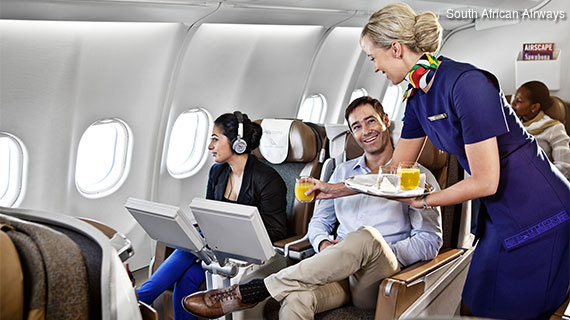 South African Airways Business Class